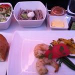機内食のオードブルです