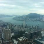 リッツカールトン香港 108階からの眺め