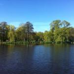ハンブルクの アルスター湖