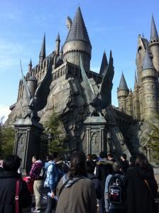 ハリー・ポッター 魔法学校。 USJです。 夢の世界でした。