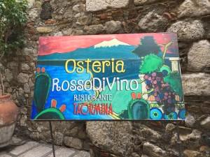 シチリア島の美味しいレストラン