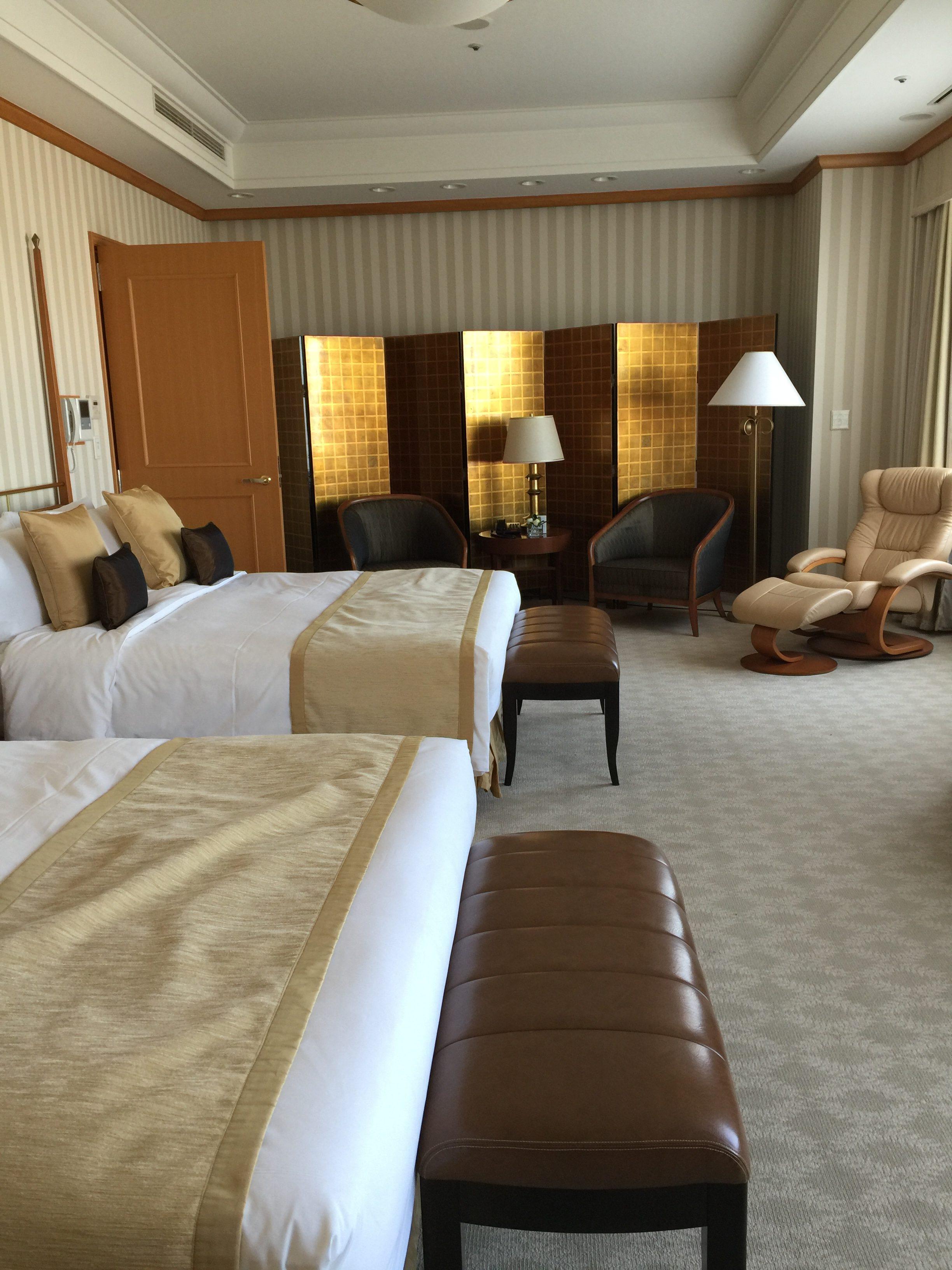 大阪サミットでトランプ大統領が宿泊されたお部屋